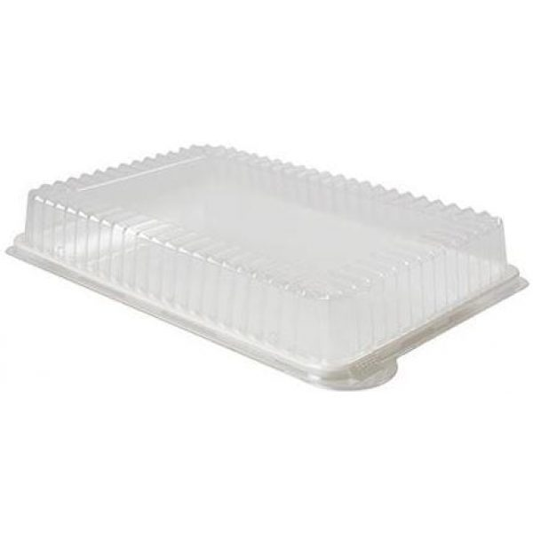 Dome PET Lid for 9x13'' Serving Trays X 48