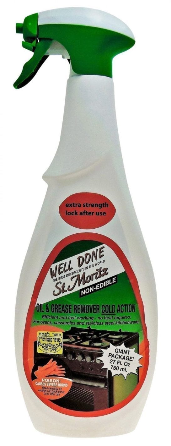 St. Moritz Well Done Oven Cleaner Grease and Oil Remover 750ML X 15