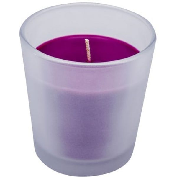 Airwick Aromatic Candle Mountain Berry Blossom PURPLE