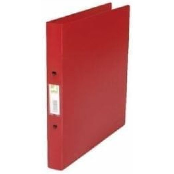 Q-Connect Presentation 4D-Ring Binder RED A4