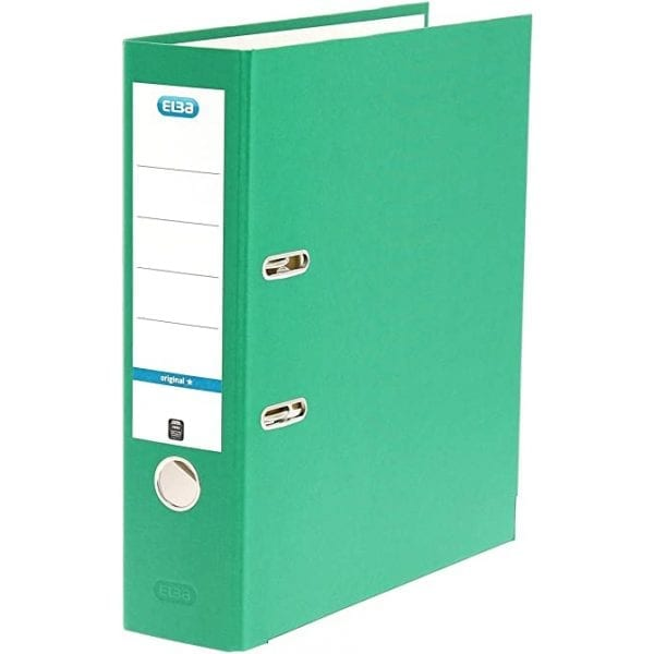 Brights Lever Arch A4 Green (10)