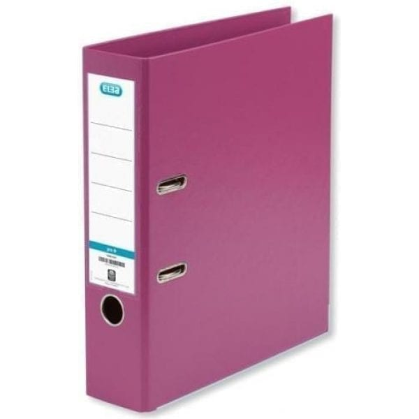 Brights Lever Arch A4 Pink (10)