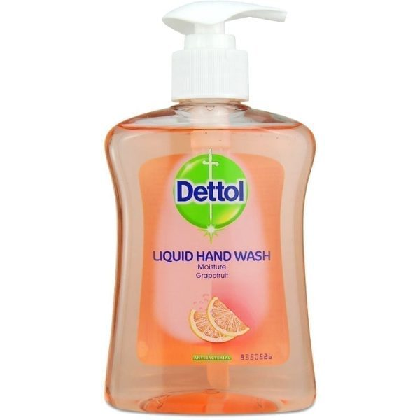 Dettol Antibac handwash Grapefruit 250ML X 6